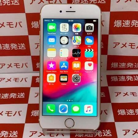 iPhone6s 64GB AU版SIMフリー ゴールド バッテリー86%-正面