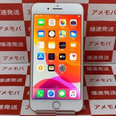 iPhone8 Plus 64GB AU版SIMフリー ゴールド バッテリー85% 展示品
