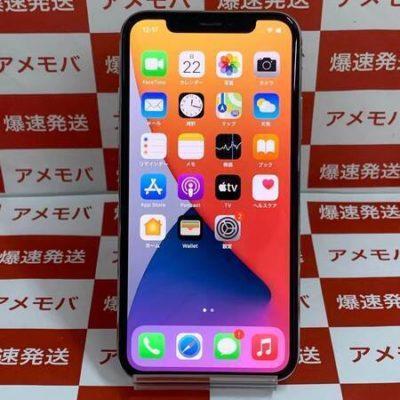 iPhoneX 256GB Softbank版SIMフリー シルバー バッテリー100%