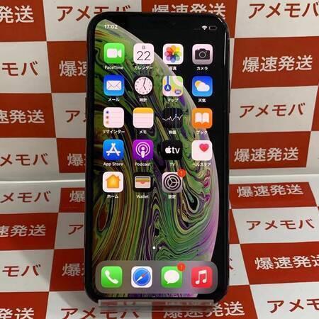 iPhoneXS 256GB AU版SIMフリー スペースグレイ-正面
