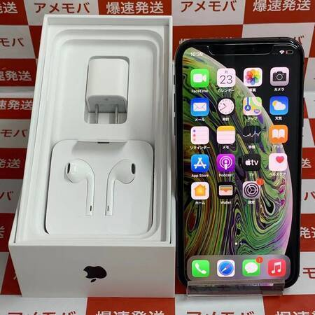 iPhoneXS 512GB Softbank版SIMフリー スペースグレイ美品-正面