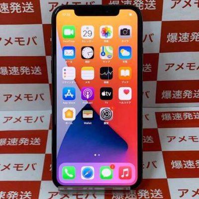 iPhoneX 256GB Apple版SIMフリー スペースグレイッテリー87%