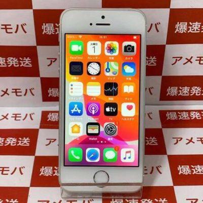 iPhone SE 32GB Softbank版SIMフリー シルバー バッテリー100%