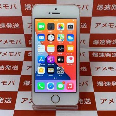 iPhone SE 32GB Softbank版SIMフリー バッテリー91%