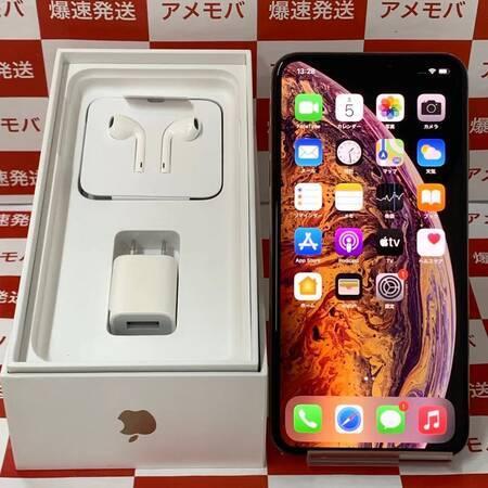 iPhoneXS Max 512GB Apple版SIMフリー ゴールド 極美品-正面