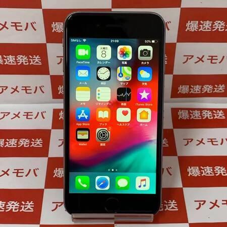 iPhone6s 128GB AU版SIMフリー スペースグレイ-正面