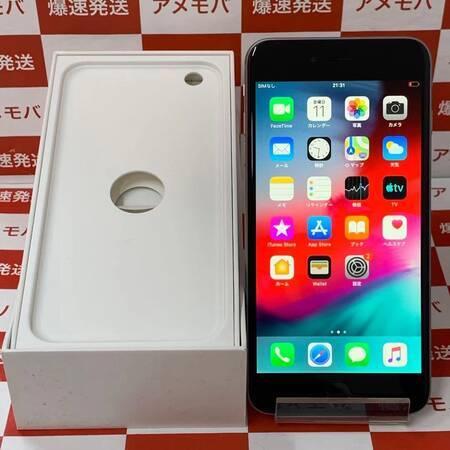 iPhone6 Plus 64GB docomo○ バッテリー100% スペースグレイ-正面