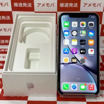iPhoneXR 64GB Softbank版SIMフリー ホワイト バッテリー89%