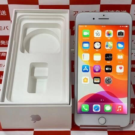 iPhone7 Plus 32GB Apple版SIMフリー シルバー バッテリー85%-正面