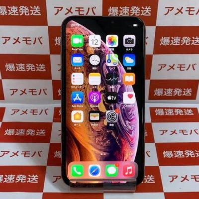 iPhone XS 256GB AU版SIMフリー ゴールド