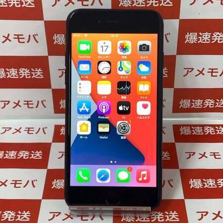 iPhone7 256GB AU版SIMフリー ブラック バッテリー87%-正面