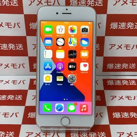 iPhone6s 64GB docomo版SIMフリー シルバー バッテリー100%-正面