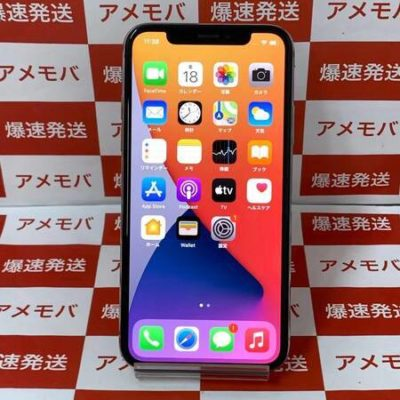 iPhone X 256GB Softbank版SIMフリー シルバー バッテリー87%