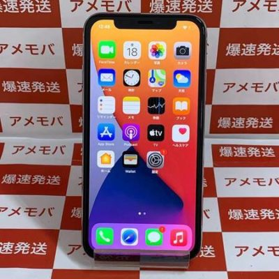 iPhone X 64GB Softbank版SIMフリー シルバー