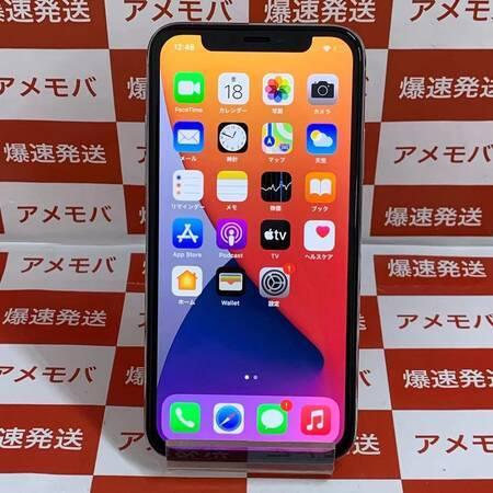 iPhone X 64GB Softbank版SIMフリー シルバー-正面