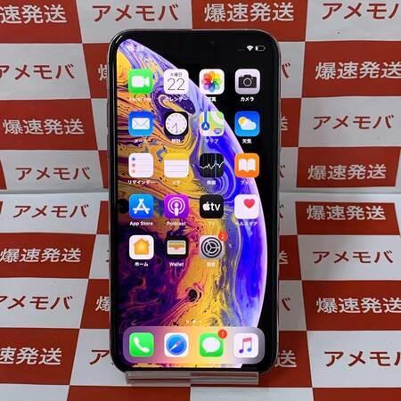 iPhone XS 256GB Apple版SIMフリー バッテリー95% シルバー-正面
