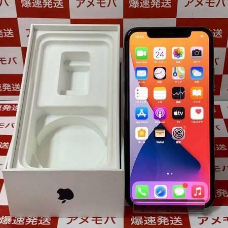 iPhone X 64GB Softbank版SIMフリー スペースグレイ-正面
