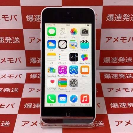 大特価 iPhone5c 16GB au○ ホワイト バッテリー89%-正面