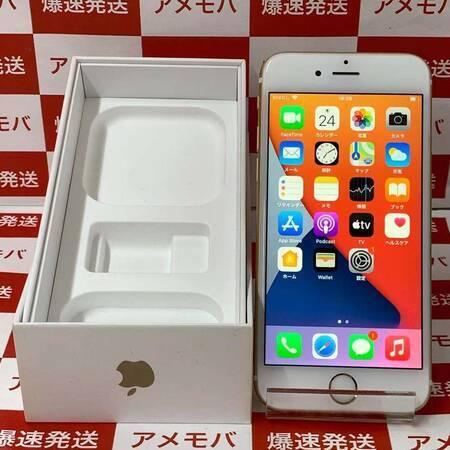 iPhone6s 64GB AU版SIMフリー ゴールド バッテリー95%-正面