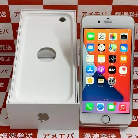 iPhone6s 64GB AU版SIMフリー バッテリー100% ゴールド-正面