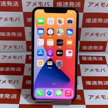 iPhone X 64GB Apple版SIMフリー バッテリー91% スペースグレイ-正面