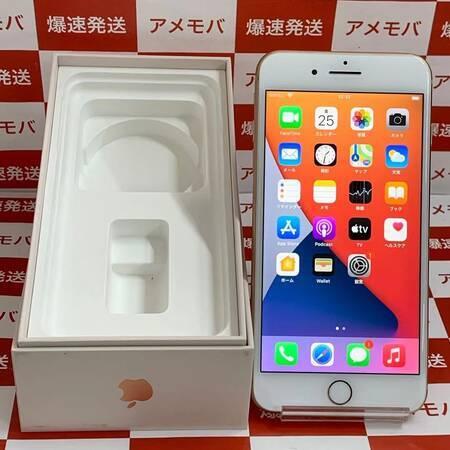 iPhone8 Plus 256GB Softbank版SIMフリー 美品 ゴールド-正面