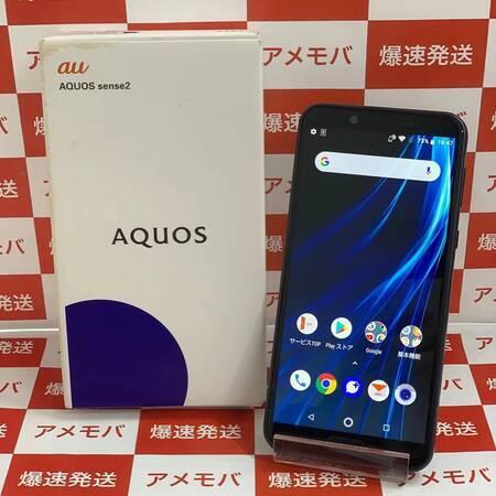 AQUOS sense2 SHV43 32GB AU版SIMフリー ブラック 美品-正面