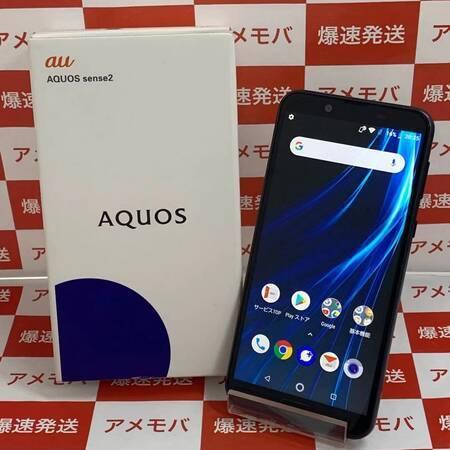 AQUOS sense2 SHV43 32GB AU版SIMフリー ブラック-正面