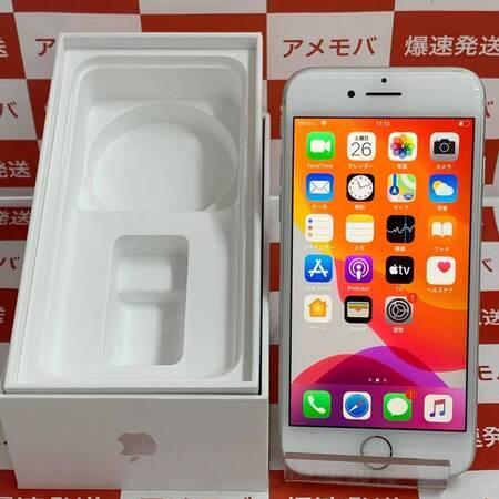 iPhone7 32GB AU版SIMフリー シルバー バッテリー92% 美品-正面