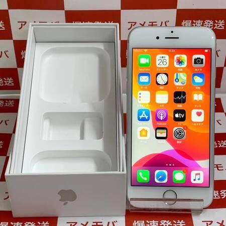 iPhone6s 32GB AU版SIMフリー シルバー バッテリー87%-正面