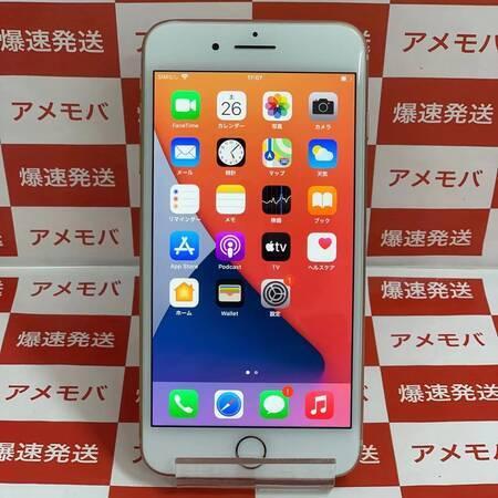 iPhone8 Plus 64GB AU版SIMフリー ゴールド バッテリー100%-正面