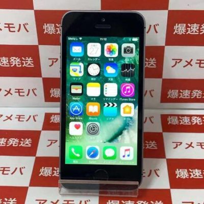 iPhone SE 16GB docomo版SIMフリー スペースグレイ バッテリー95%