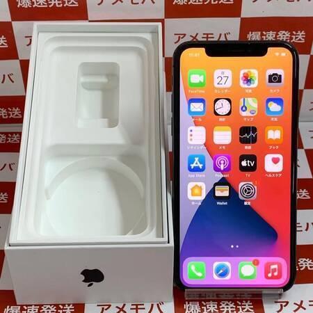 iPhone X 64GB Softbank版SIMフリー バッテリー100%-正面