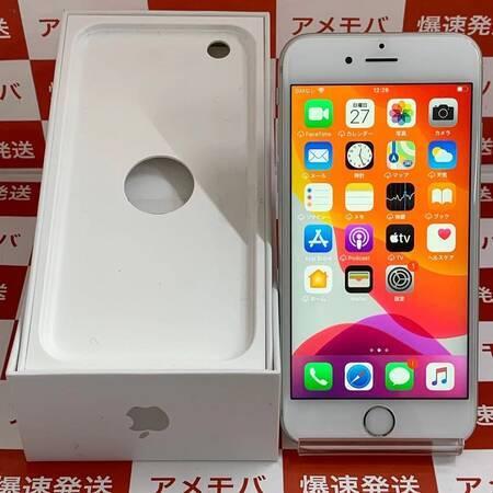 iPhone6s 32GB AU版SIMフリー バッテリー100% シルバー-正面