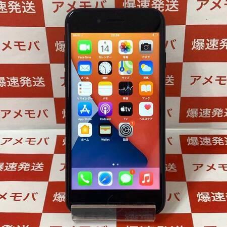 iPhone7 32GB AU版SIMフリー ブラック バッテリー100%-正面