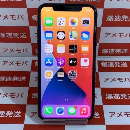 iPhone X 64GB docomo版SIMフリー バッテリー100% 極美品-正面