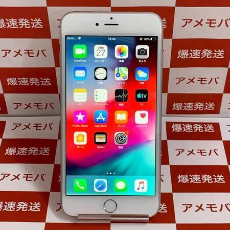 iPhone6 Plus 128GB docomo○ バッテリー100% シルバー-正面