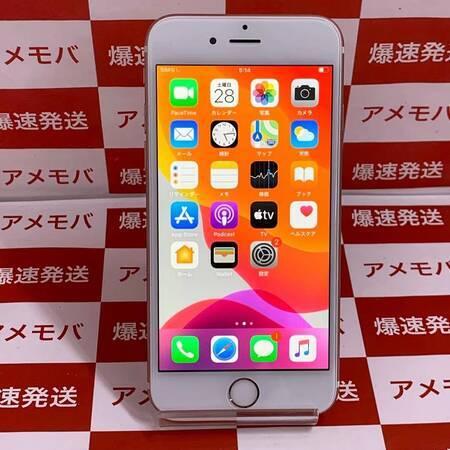 iPhone6s 64GB AU版SIMフリー バッテリー100% ローズゴールド-正面