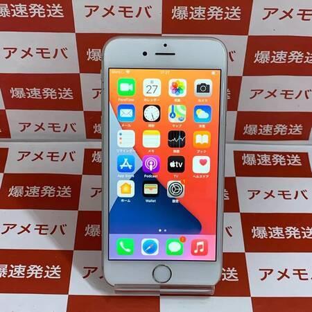 iPhone6s 64GB docomo版SIMフリー バッテリー100% シルバー-正面