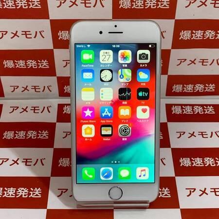 iPhone6 64GB Softbank○ バッテリー100% シルバー-正面