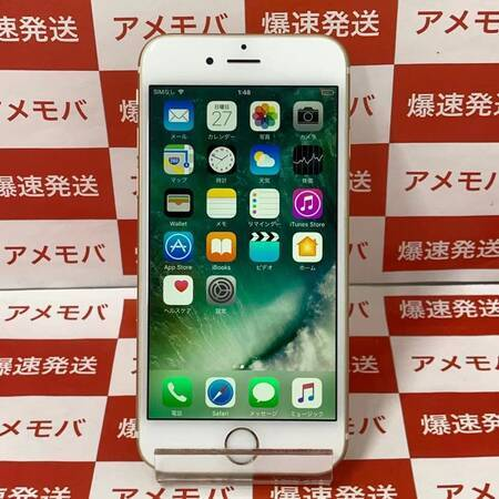 iPhone6s 32GB AU版SIMフリー ゴールド-正面