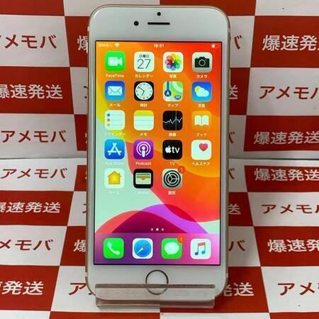 iPhone6s 32GB UQモバイルb版SIMフリー ゴールド バッテリー100%-正面