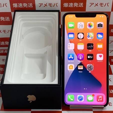 訳あり特価 iPhone11 Pro Max 256GB docomo版SIMフリー-正面