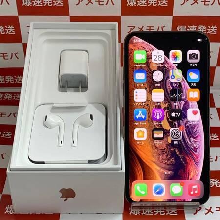 iPhone XS 64GB AU版SIMフリー ゴールド 極美品-正面