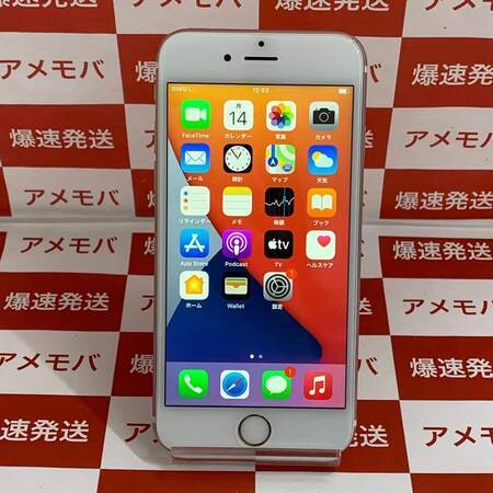 iPhone6s 64GB AU版SIMフリー ローズゴールド-正面