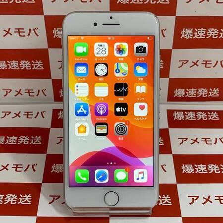 iPhone7 32GB AU版SIMフリー バッテリー100% シルバー-正面