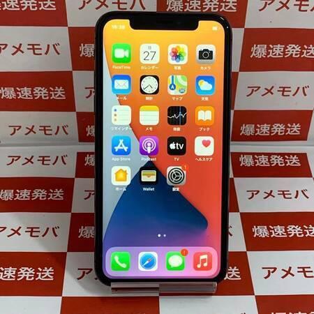 iPhone X 64GB Apple版SIMフリー スペースグレイ-正面