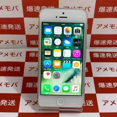 iPhone5 16GB AU○ バッテリー94% シルバー 極美品