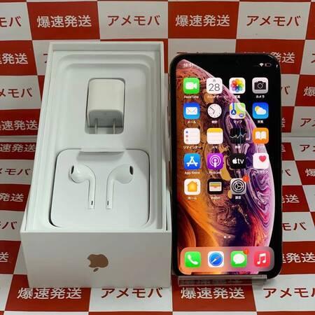 iPhone XS 256GB AU版SIMフリー バッテリー92% 新品同様品-正面