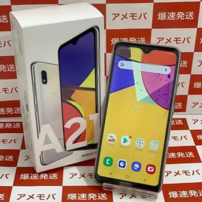 Galaxy A21 UQmobile 64GB SCV49 SIMロック解除済み
